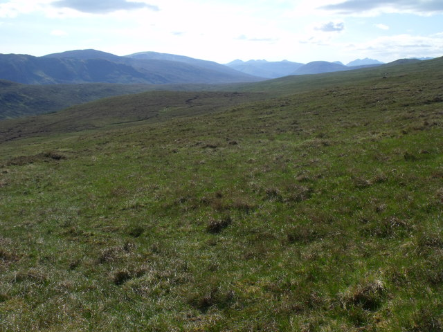 Am Meallan above Scardroy