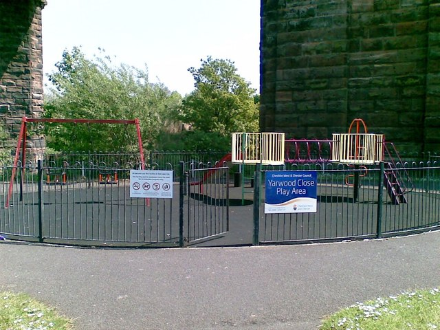 Yarwood Close Play Area, Northwich