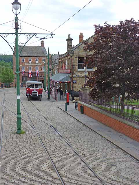 """The town"" at Beamish"