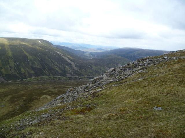 Above Coire Creagach