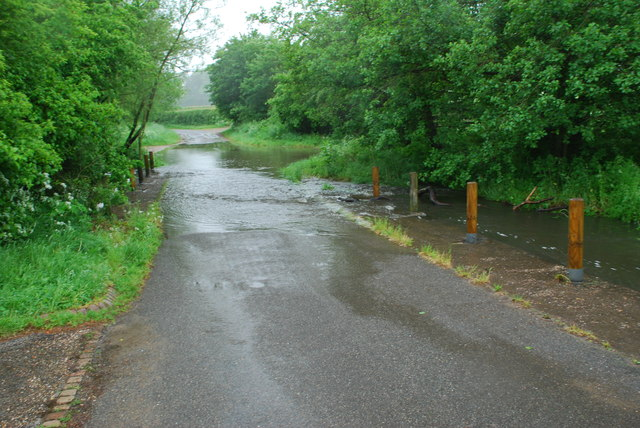 Ford on Elvers Green Lane, Barston