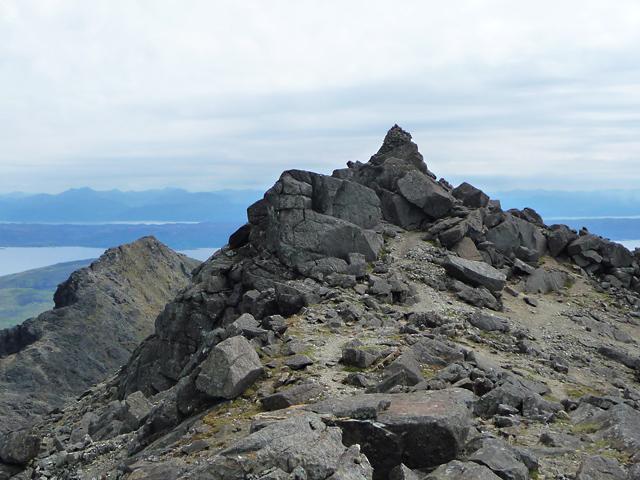 Summit of Sgùrr nan Eag