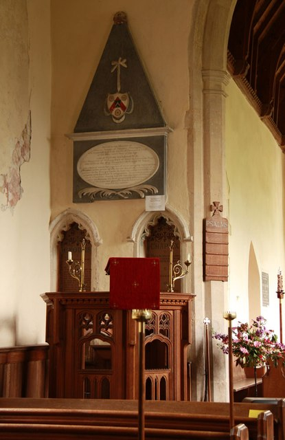 St Mary, Coney Weston - Pulpit