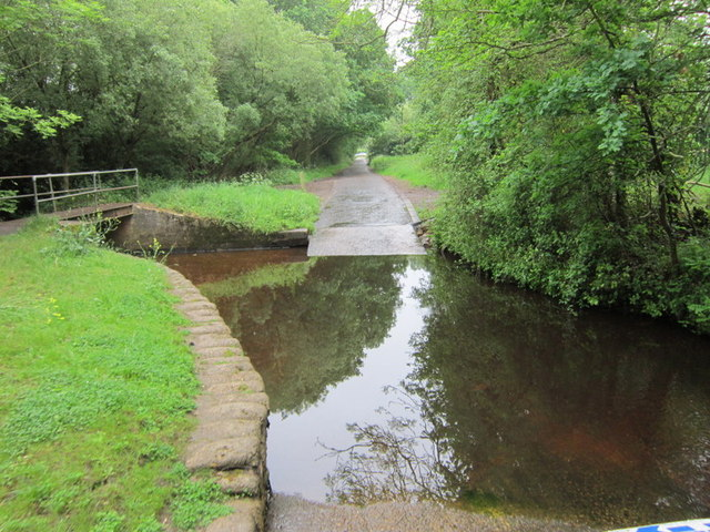 The ford on Lovelands Lane