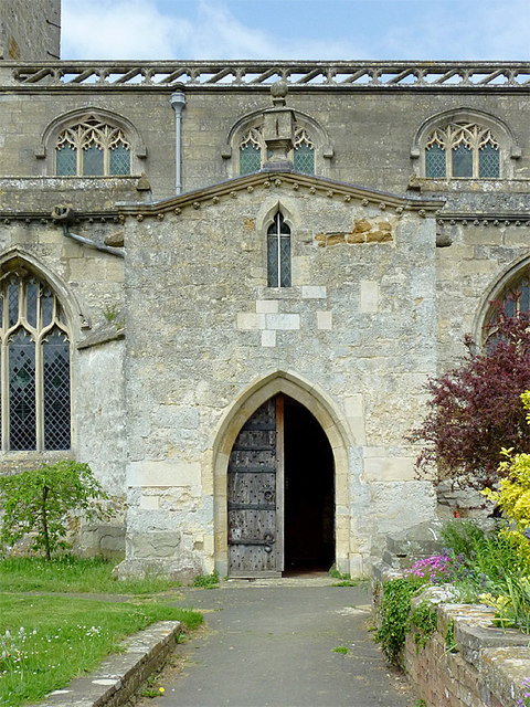St John's Church (entrance), Slimbridge, Gloucestershire