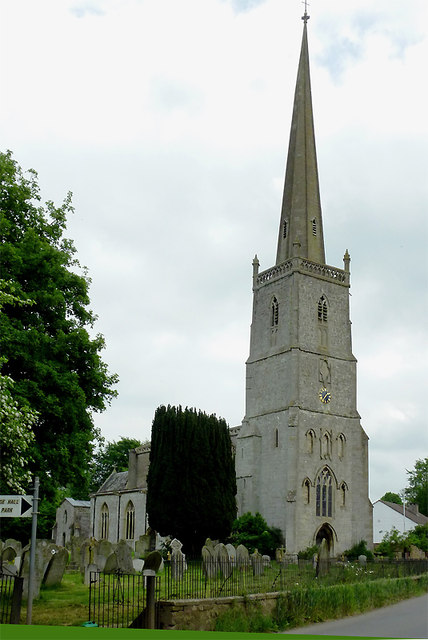 Church of St John the Evangelist in Slimbridge, Gloucestershire