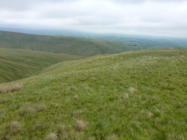 Northwest slopes of Middleton