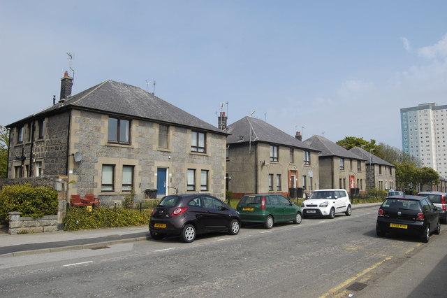 Maisonettes, Regent Walk, Aberdeen