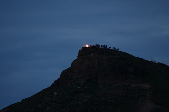 Jubilee Beacon on Roseberry