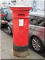 TQ3203 : Victorian postbox, Eaton Place, BN2 by Mike Quinn