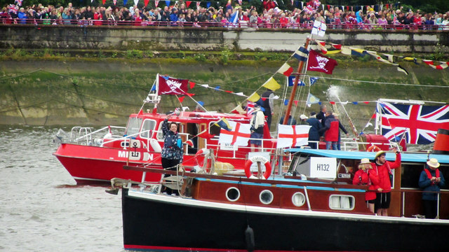 Historic boats, Jubilee Pageant