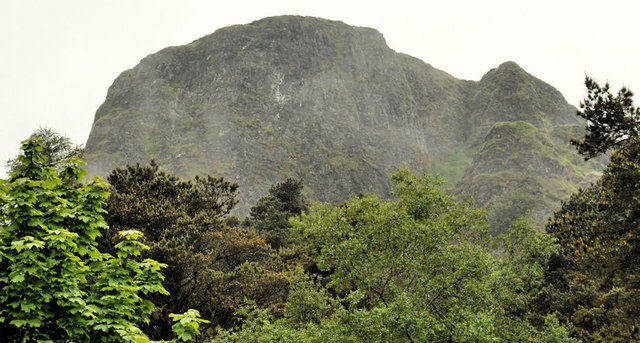 Low cloud, the Cave Hill, Belfast (3)