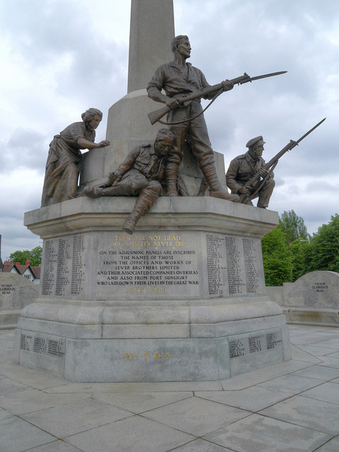 The Lever Brothers' War Memorial, Port Sunlight
