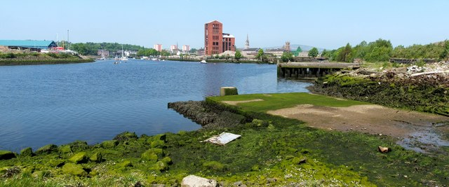The former site of Denny's shipyard