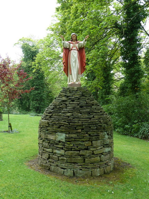 Church of the Immaculate Conception, Charlesworth, Statue