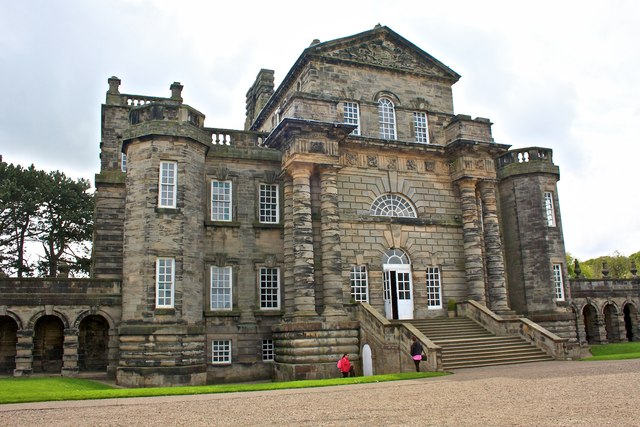 North Front, Seaton Delaval Hall