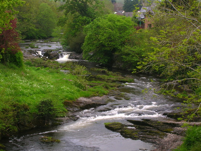 River Rhiw at Berriew