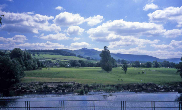River Usk viewpoint at Brecon