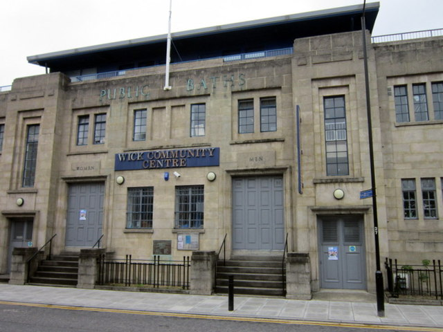 The Public Baths at  Wick Community Centre