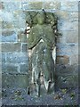 NS4673 : Old Kilpatrick Parish Church: effigy of a knight by Lairich Rig