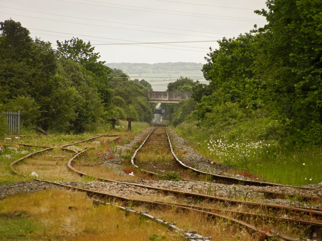 Rail Tracks leaving Barnstaple