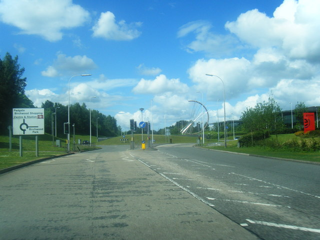 Birchwood Way roundabout