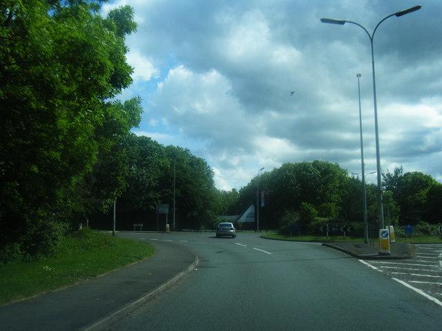 Birchwood Park Avenue roundabout