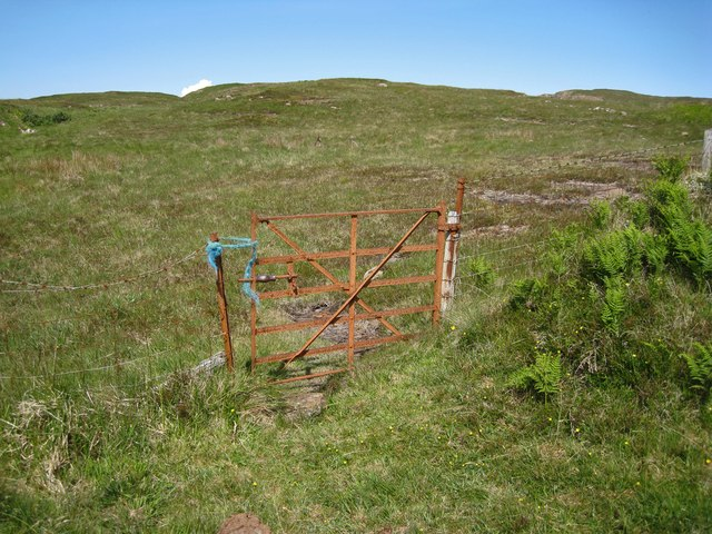 Gate onto the moor
