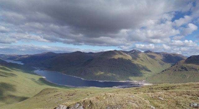 Above Loch Mullardoch