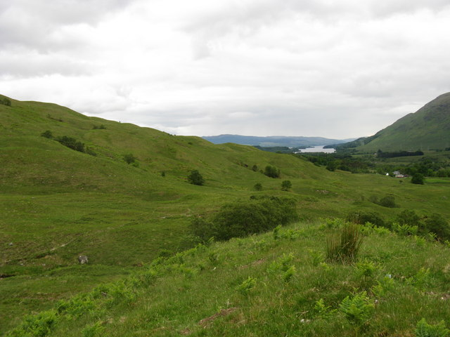 Near Duiletter in Glen Strae