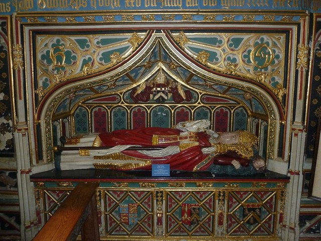 Tomb of Hugh Oldham, Bishop of Exeter
