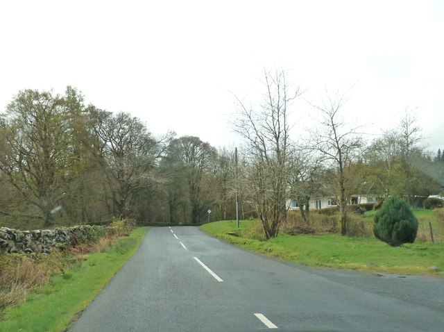 Approaching Glentrool Village