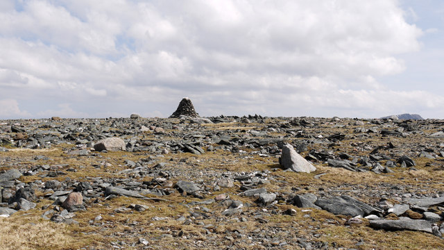 Summit area of Beinn Làir
