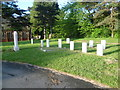 TQ4577 : War graves in Woolwich Old Cemetery by Ian Yarham