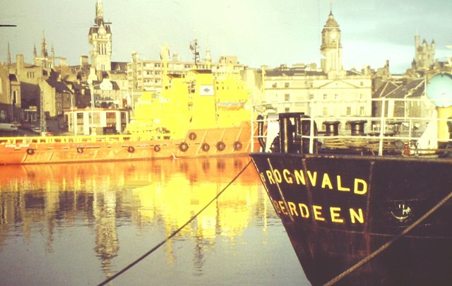 St Rognvald in Aberdeen Harbour