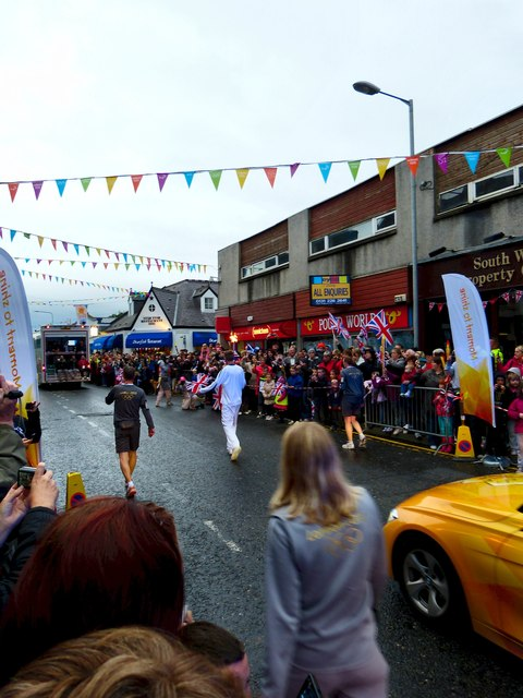 Olympic Torch 2012 in Stranraer (16)
