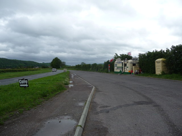 Lay-by west of the A49 road north of Affcot