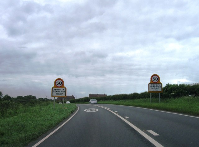 Entrance to Winfrith Newburgh