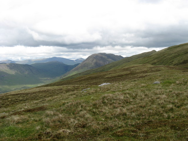 West side of Beinn Donachain