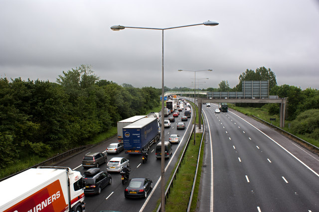 Major delays on the M6 between J27 and J20