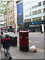 TQ2980 : London: postbox &#8470; WC2 68, Charing Cross Road by Chris Downer