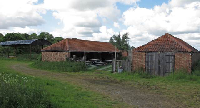 Buildings near Whitehouse Farm