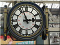 TQ3179 : Waterloo: the famous station clock viewed from the same level by Chris Downer