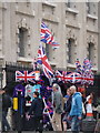 TQ3080 : London: Union flags stall by Chris Downer