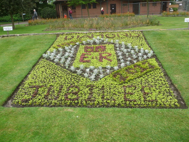 Bournemouth: a floral Jubilee display