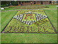SZ0891 : Bournemouth: a floral Jubilee display by Chris Downer