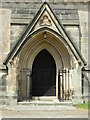 SK3253 : Vestibule doorway, All Saints Church by Rob Howl