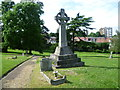 TQ4577 : Princess Alice Memorial, Woolwich Old Cemetery by Ian Yarham