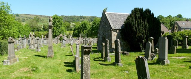 Kirkyard of Old Kilpatrick Parish Church