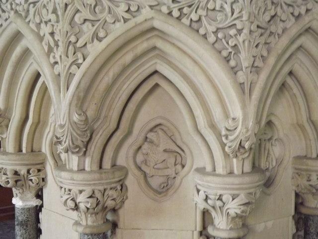 Font Detail, West Meon
